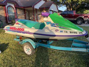 1996 sea doo GTX jet ski for Sale in San Antonio, TX