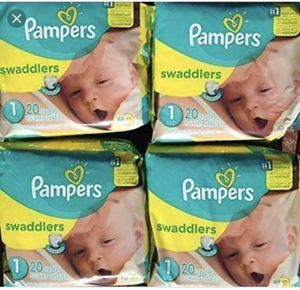 Pampers Diapers for Sale in Houston, TX