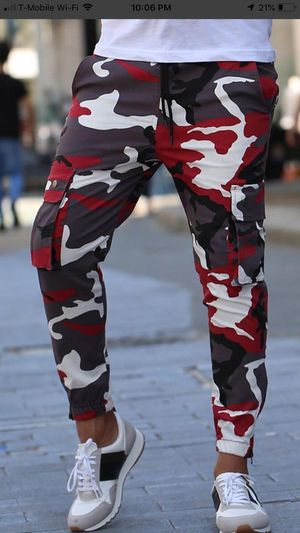 Fashion men's premium camouflage jeans super nice and comfortable all sizes for Sale in Los Angeles, CA