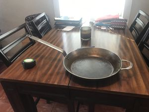 "14"" De Buyer Mineral B Carbon Steel Fry Pan Pre-Seasoned for Sale in Hialeah, FL"