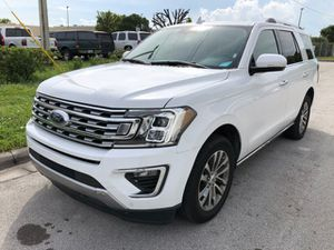 2018 Ford Expedition Limited 4x2 SUV Completely loaded leather panoramic sunroof navigation backup camera clean title good miles for Sale in Pembroke Pines, FL