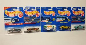 Hot Wheels krackle car series 65 Mustang 58 Corvette Olds 442 w30 Fuji blimp for Sale in Kissimmee, FL