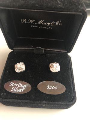 Diamond earrings for Sale in Charlotte, NC