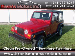 2002 Jeep Wrangler for Sale in Bradenton, FL