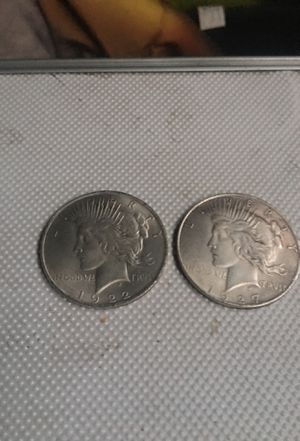 Old peace dollars for Sale in Fontana, CA