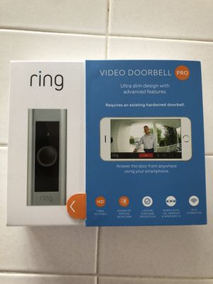 Ring Doorbell Pro for Sale in Del Monte Forest, CA