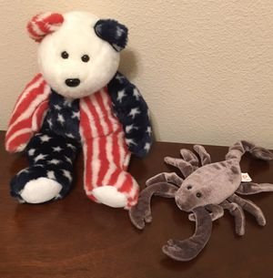 Ty Beanie Buddy and Ty Beanie Baby for Sale in Sanger, CA