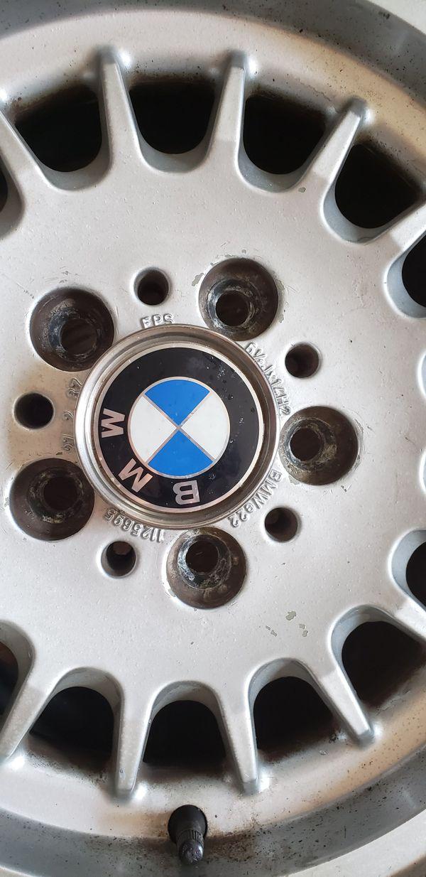 (3) BMW E23,E34,E28 Rims and tires
