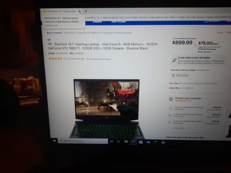 Hp Pavilion Gaming Laptop for Sale in Gaithersburg,  MD