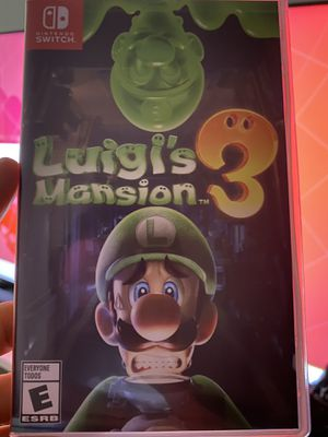 Luigis Mansion 3 Nintendo Switch for Sale in Miami, FL