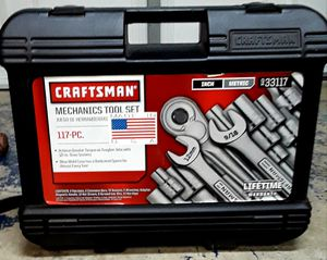 Craftsman mechanic tool set 117pc inchand metric never used for Sale in Modesto, CA