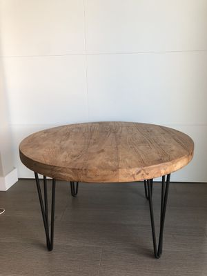 Natural Wood Midcentury Coffee Table for Sale in Portland, OR