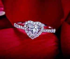 Heart ring size 5.5,6.5,7.5 for Sale in Raleigh, NC