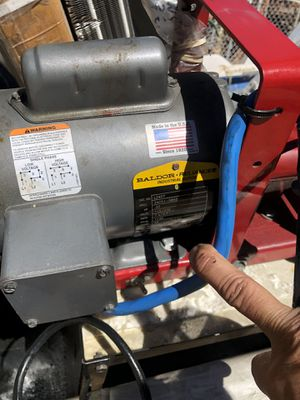 Oil transfer pump Baldor motor for Sale in Alpine, CA
