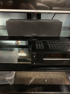 Onkyo Dolby 5.1 surround sound system for Sale in Spokane, WA