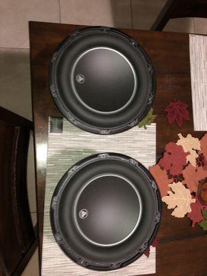 """JL Audio 10W6v3-D4 10"""" Pro Subwoofers (Pair) for Sale in St. Cloud, FL"""