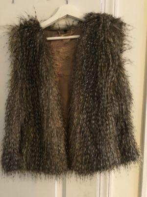 Express faux fur vest for Sale in Alexandria, VA