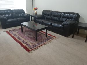 Couch 3+2 seater with 2 side & 1 center table for Sale in Draper, UT