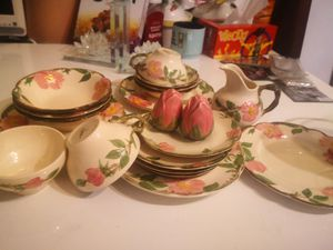 Antique Desert China Rose Set for Sale in Queens, NY