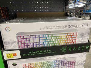 Razer Gaming Keyboard Blackwidow for Sale in Warrensburg, MO
