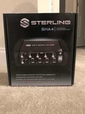 sterling 4-channel headphone amplifier for Sale in Gainesville, VA