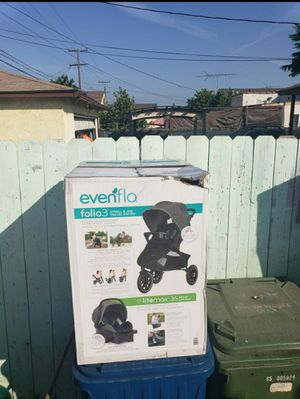 Evenflo Folio3 Stroll and Jog Travel System for Sale in Huntington Park, CA