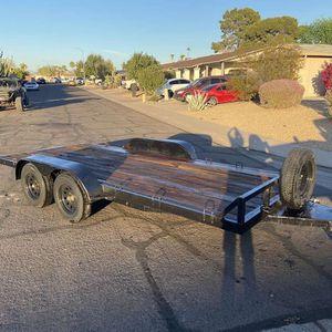 Car Hauler Trailer Dual Axle for Sale in Phoenix, AZ