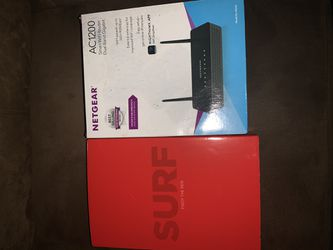 Netgear Router and Arris Modem for Sale in Southfield,  MI