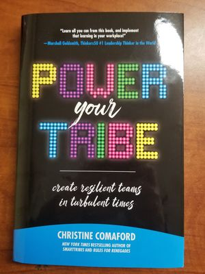 """CHRISTINE COMAFORD """"POWER THE TRIBE"""" HARDCOVER, BRAND NEW for Sale in Scottsdale, AZ"""