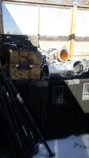 Band speakers lights and drums for Sale in Aurora, CO