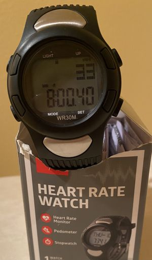 Step/ pedometer/ heart rate watch for Sale in Sammamish, WA