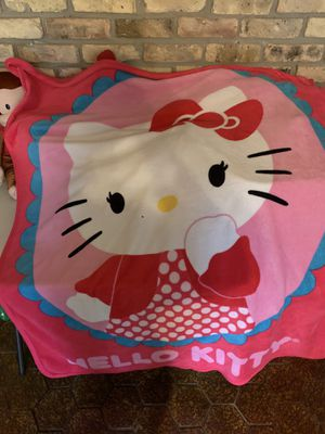 Hello kitty blanket for Sale in Deer Park, TX