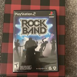 Rock Band Playstion 2 for Sale in Wake Forest,  NC