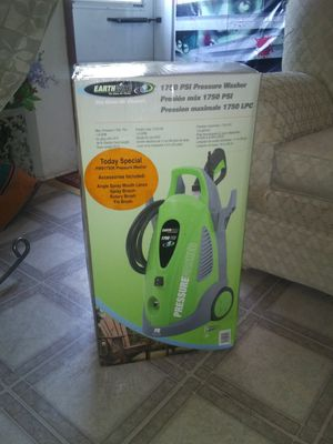 Earthwise Electric pressure washer 1750 PSI for Sale in Venetia, PA