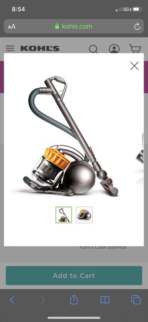 Dyson ground ball vacuum for Sale in Alta Loma, CA
