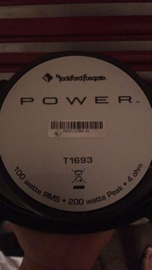 Rockford fosgate T1693 for Sale in Columbus, OH