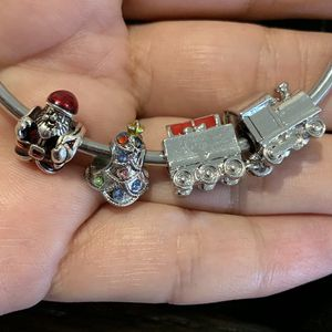 3 Christmas charms for Pandora bracelet. for Sale in Fullerton, CA
