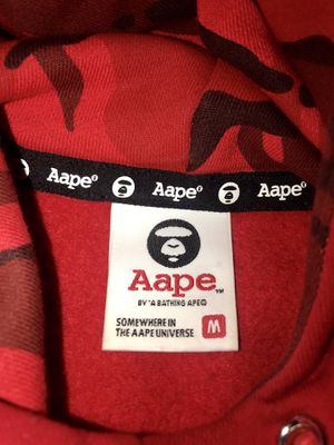 BAPE red hoodie for Sale in Miami, FL