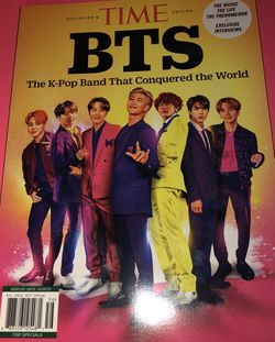 BTS BANGTAN BOYS COLLECTORS EDITION TIME MAGAZINE K-POP BAND 2020 for Sale in Robinson,  TX