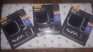 Roku ultra new brand new for Sale in Bapchule, AZ