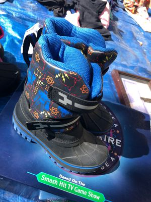 Boys snow boots size 12 for Sale in Alameda, CA