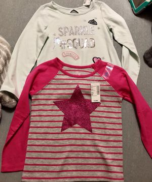Set of 2 Girl Long Sleeves Tops (4T) for Sale in Falls Church, VA