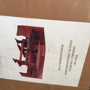 Wood Tables And Chair (bench) for Sale in Dearborn, MI