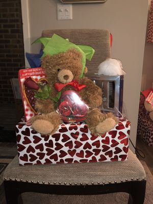 Teddy bear for Valentine's Day for Sale in Columbus, OH