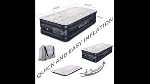 Twin air mattress with built in pump for Sale in New York, NY
