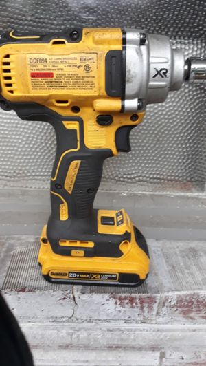 Dewalt DCF894 impact wrench and for Sale in Seattle, WA