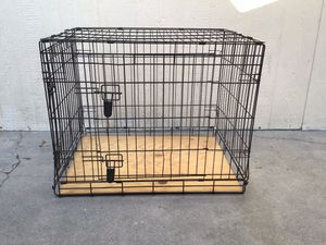"""Dog Cage Kennel 21"""" wide by 30"""" long by 24"""" Hight for Sale in San Bernardino, CA"""