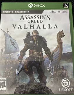 Assassin's Creed Valhalla - Xbox One/Series X for Sale in West Hollywood,  CA