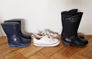 Converse and boots for Sale in ROWLAND HGHTS, CA