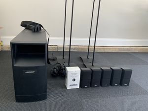 Bose Acoustimass 16 Home Theater System 6.1 Subwoofer with 6 speakers, 4 Stands and cables for Sale in Alpharetta, GA